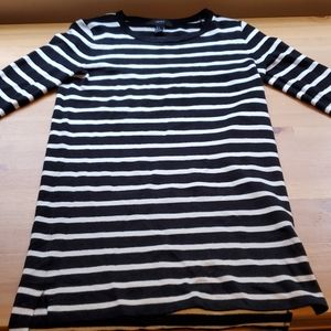 NWOT Forever 21 striped sweater dress size S